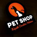 Pet Shop 3D Led Tabela