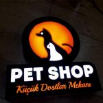 Pet Shop 3D Led Tabela Imalat