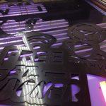 3D LED hazır tabela on yuzey lazer 3 mm pleksı Kesım Imalatı