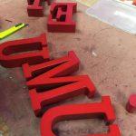 Fason Kırmızı Kutu Harf Uretım
