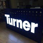 TurnerKule Vınc Uzerı Isıklı Kutu Harf Uretımı