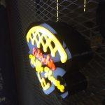 Waffle 3D LED Tabelası