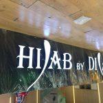 Hijab Dila Moda Evi Almanya Isıklı Kutu Harf Tabela