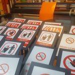 Turkiye Kultur Ve Truzim Bakanlıgı Rumeli Hisarı Muzesi Ayaklı Uyarı Ikaz Yonlendirme Tabela İmalat