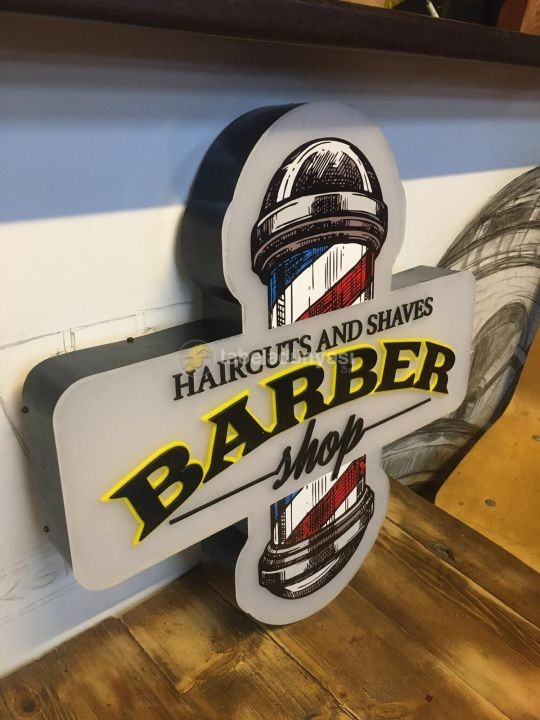 Almanya Barber 3D LED TABELA (Neon Etkili) İmalat