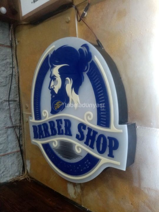 Barber Shop Neon Etkili Tabela İmalat