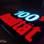 Hilal Market Almanya 3D LED TABELA imalat