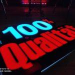 Hilal Market Almanya 3D LED TABELA imalatı