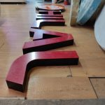 Hilal Market Almanya Isıklı pleksi Kutu Harf