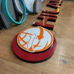 Hilal Market Almanya Isıklı pleksi Kutu Harf imalat