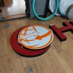 Hilal Market Almanya Isıklı pleksi Kutu Harf imalatı