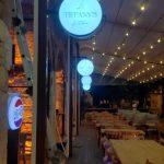 Tiffany Garden Suleymaniye Isıklı Cift taraflı Hazır Tabela imalat
