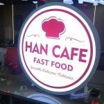 Han Cafe Fast Food Hazır Daire Tabela