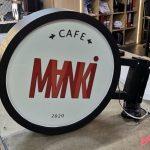 Manki Cafe Isıklı Hazır Daire Tabela imalat