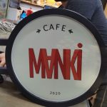 Manki Cafe Isıklı Hazır Daire Tabela imalatı