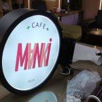 Manki Cafe Isıklı Hazır Daire Tabela uretim