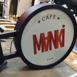 Manki Cafe Isıklı Hazır Tabela