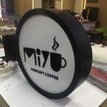 Miyu Consept Cofee Daire Hazır Tabela