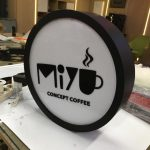 Miyu Consept Cofee Daire Hazır Tabela imalat