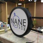 Nane Gastro Pub Isıklı fileli Hazır Daire Tabela