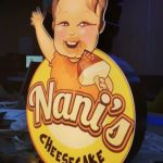 Nani's Cheesecake Almanya Isıklı Kutu Logo imalatı