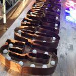 Almanya Ampullu Retro Kutu Harf Tabela