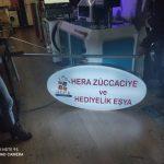 Hera Zuccaciye ve Hediyelik Esya Işıklı Elips Hazır Tabela