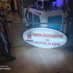 Hera Zuccaciye ve Hediyelik Esya Işıklı elips hazırTabela