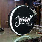 Jardin Coffee Hause Hazır Tabela imalatı