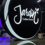 Jardin Coffee Hause Isıklı Hazır Daire Tabela (2)