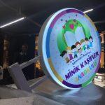Minik Kasifler Anaokulu Daire Hazır Tabela imalatı