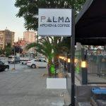 Palma Kitchen Coffee Ayaklı Cift Taraflı Isıklı Tabela imalat