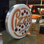 Pizza Gokceada Hazır Daire Tabela imalatı