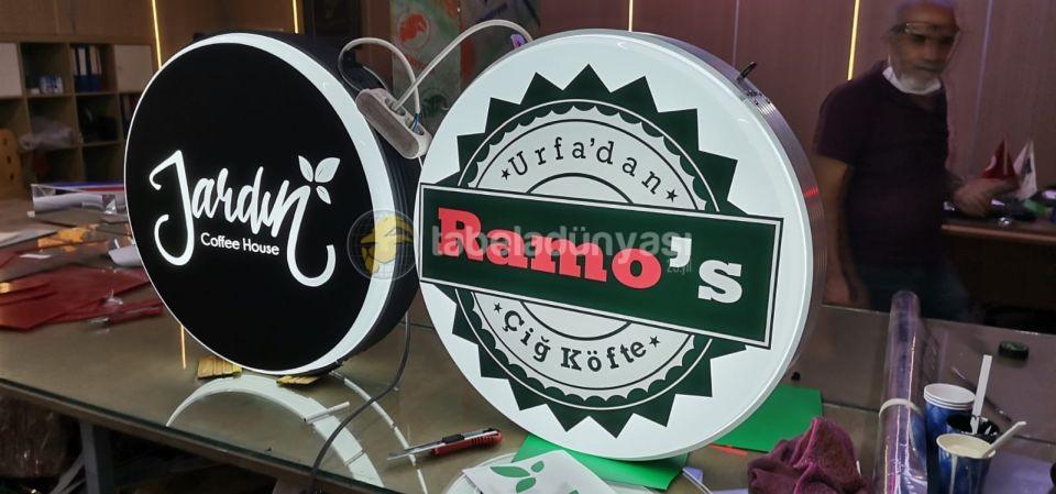 Ramos Isıklı Hazır Daire Tabela imalat