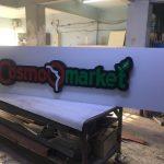 Cosma Market Isıklı Tabela Uretim