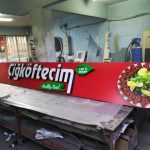 Almanya Cigkoftecim Isıklı Tabela