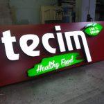 Almanya Cigkoftecim Isıklı kutu harf Tabela imalat