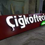 Cigkoftecim Almanya Isıklı kutu harf Tabela uretim
