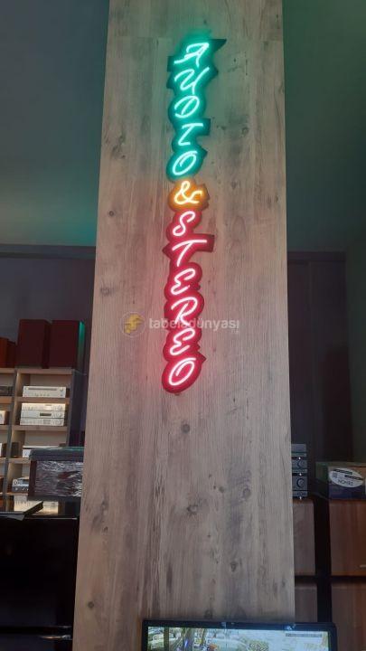 AUDO Neon hortum led tabela