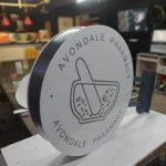 Avondale Pharmacy Hazır Daire Tabela uretim