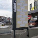 Cadde 73 Kanopi Totem Tabela imalat