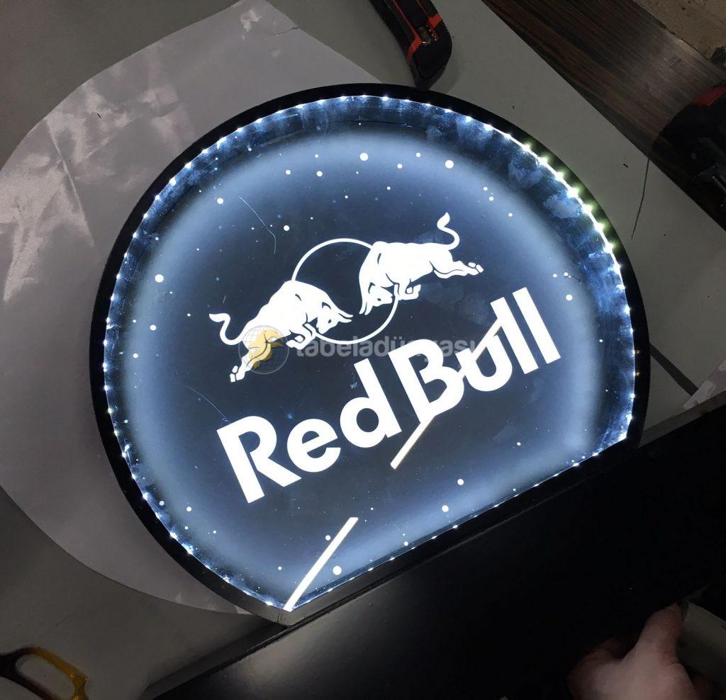 RedBull Isıklı Tabela