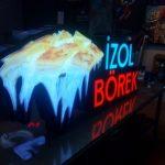 izol Borek 3D Led Tabela