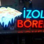 izol Borek 3D Led Tabela imalat
