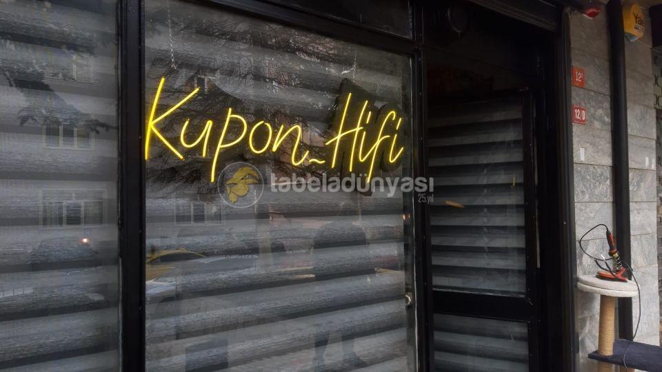 Kupon Hifi Neon Hortum led tabela