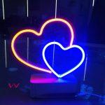 Sevgililer gunu neon hortum led tabela imalatı
