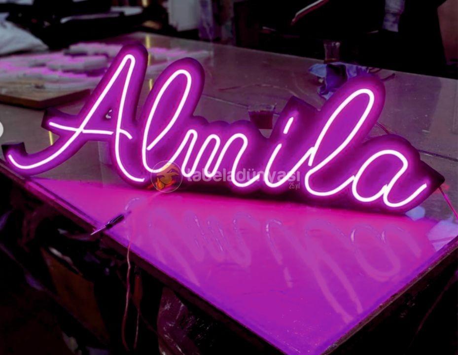 Almila Neon hortum led tabela