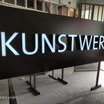 Kunstwerk Avusturya Isıklı Kutu Harf Tabela