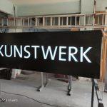 Kunstwerk Avusturya Isıklı Tabela imalat