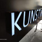 Kunstwerk Avusturya Isıklı Tabela imalatı